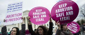 WASHINGTON US USA UNITED STATES 2017 SUPREME COURT ABORTION PRO LIFE PROLIFE MARCH FOR LIFE PROCHOICE PRO CHOICE ROE V WADE