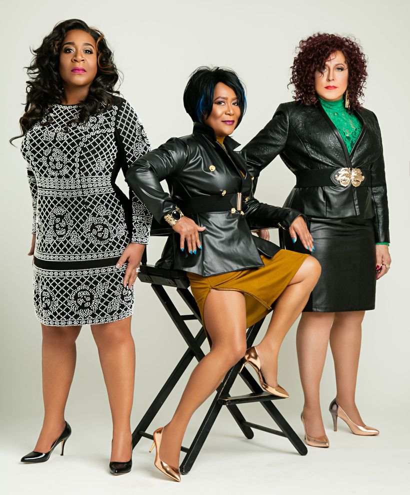 The Ritchie Family (l to r): Renée Guillory-Wearing, Cassandra Wooten, and Cheryl Mason-Dorman.