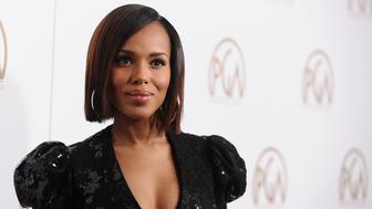 BEVERLY HILLS, CA - JANUARY 28:  Actress Kerry Washington attends the 28th annual Producers Guild Awards at The Beverly Hilton Hotel on January 28, 2017 in Beverly Hills, California.  (Photo by Jason LaVeris/FilmMagic)