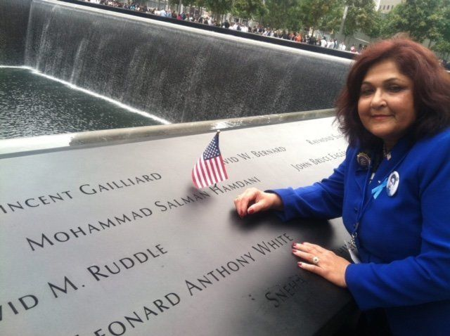 Talat Hamdani is the mother of Mohammad Salman Hamdani, who was a first responder at the Twin Towers on September 1