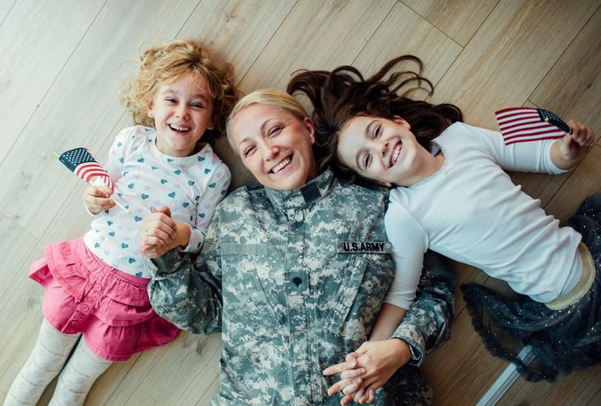 Homeless women veterans are frequently single mothers with dependent children.