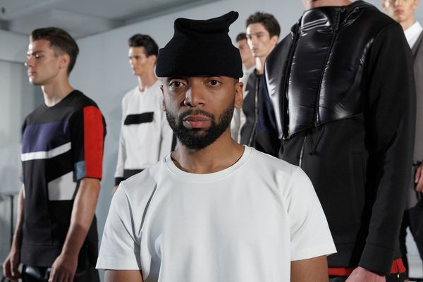 Season after season, fearless fashion designer Kerby Jean-Raymond delivers powerful messages through his ready-to-wear mens c