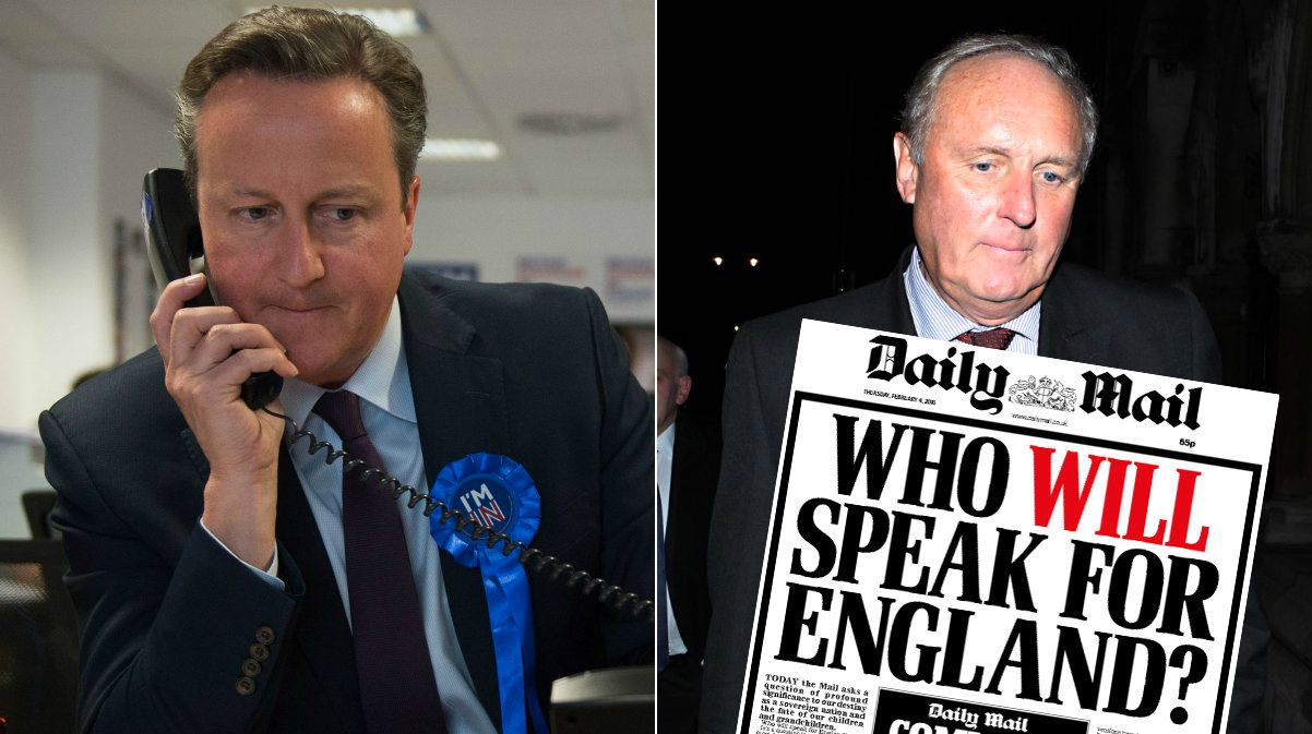 David Cameron 'Tried To Get Daily Mail Editor Sacked' Over