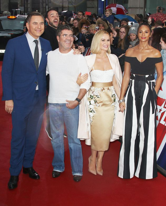 The 'BGT' judges on the red