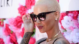 LOS ANGELES, CA - OCTOBER 01:  Model Amber Rose attends the Amber Rose SlutWalk 2016 at Pershing Square on October 1, 2016 in Los Angeles, California.  (Photo by Amanda Edwards/FilmMagic)