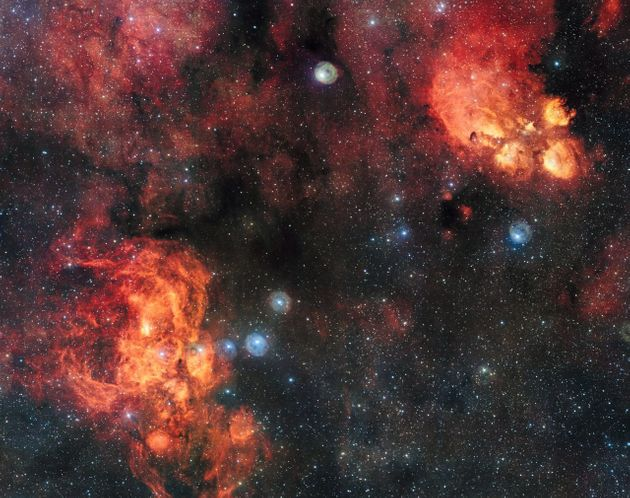 The ESO Has Revealed One Of The Most Dramatic Space Images We've Ever