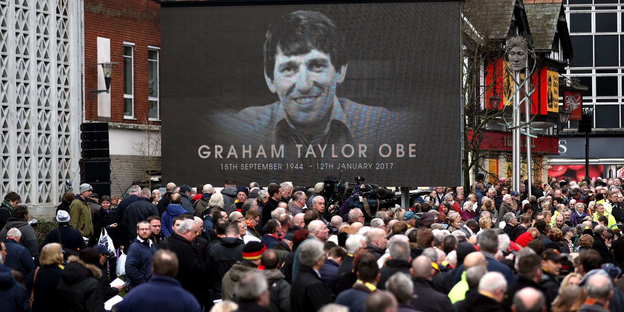 Graham Taylor Funeral Sees Football Fans And Stars Gather