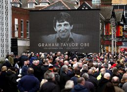 Football Stars And Fans Gather For Funeral Of Ex-England Manager Graham Taylor