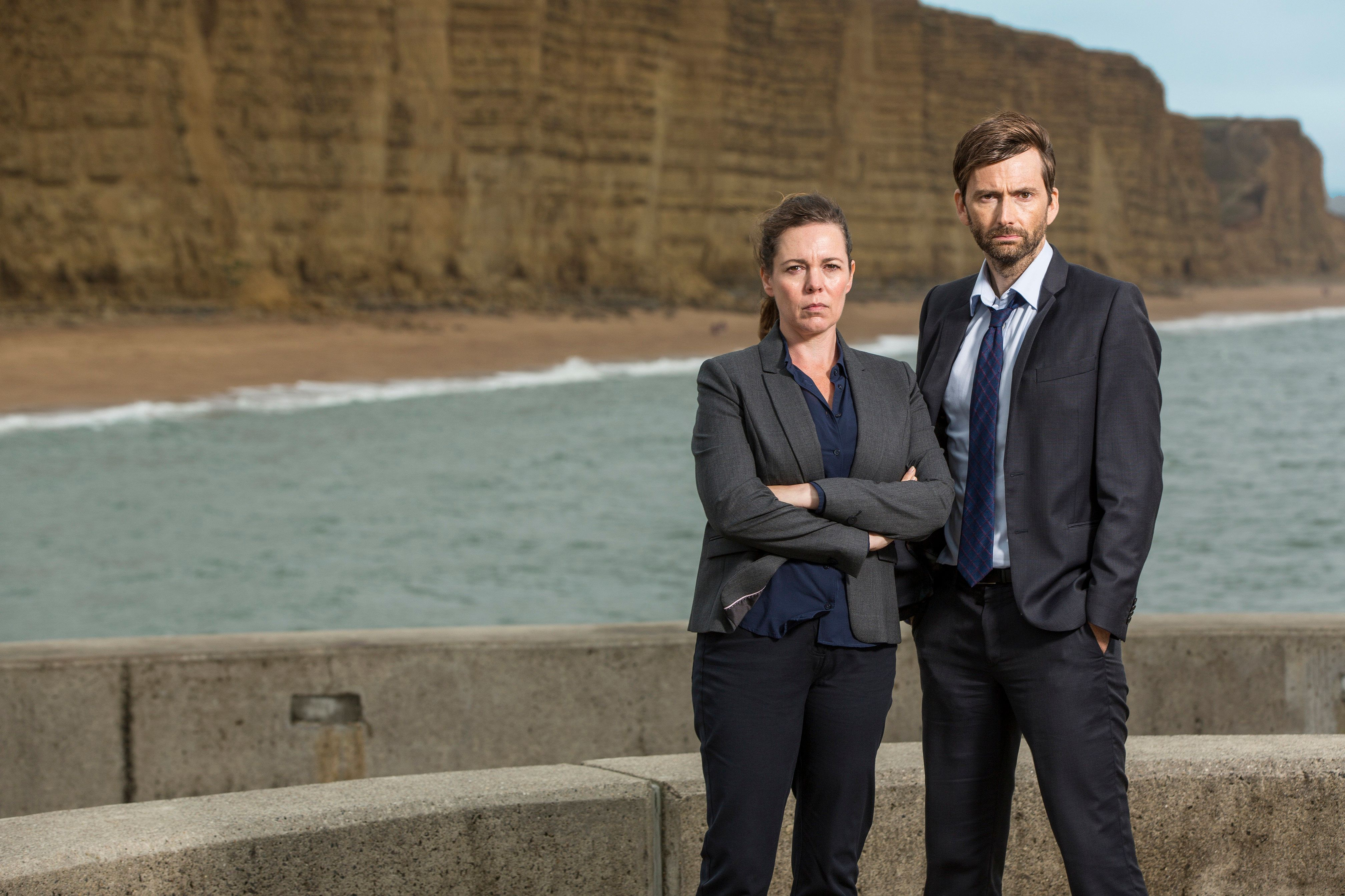 The duo will return for the third and final series of 'Broadchurch' later this