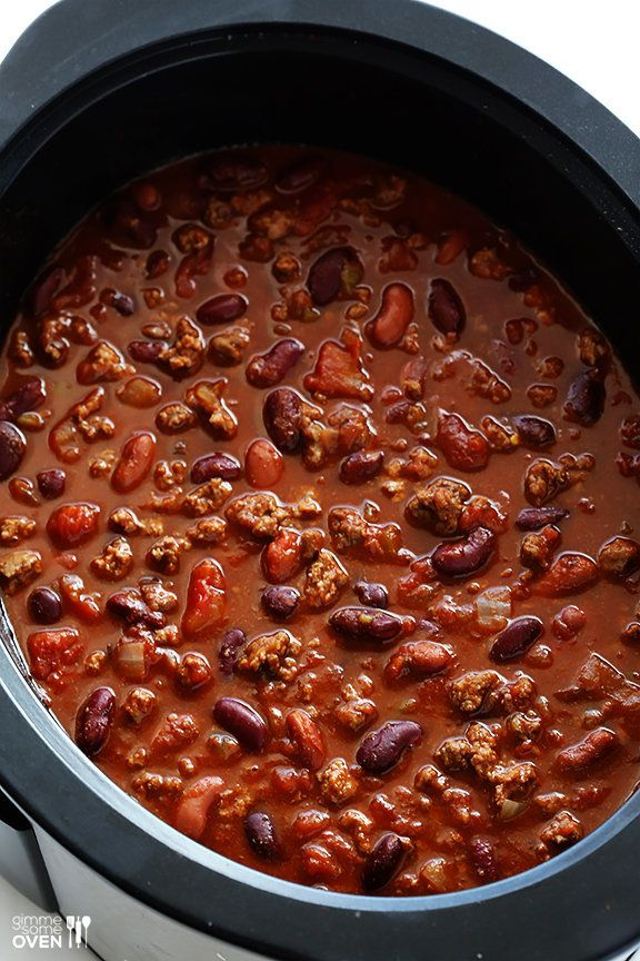 """<strong>Get the <a href=""""http://www.gimmesomeoven.com/slow-cooker-chili-crock-pot-giveaway/"""" target=""""_blank"""">Slow Cooker Chil"""