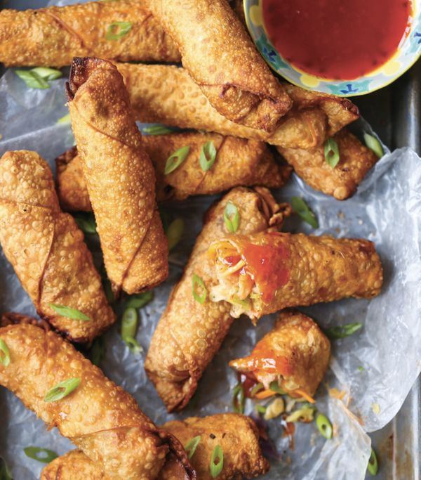 "<strong>Get the <a href=""http://damndelicious.net/2016/06/10/shrimp-egg-rolls/"" target=""_blank"">Shrimp Egg Rolls recipe</a>&n"