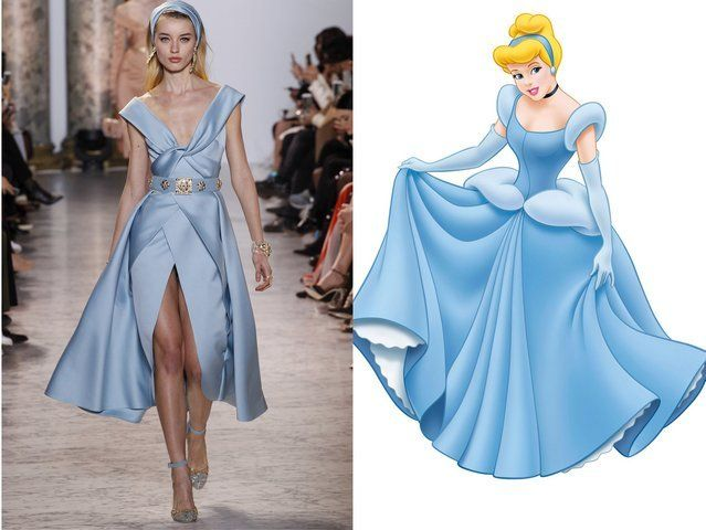 These 11 Iconic Disney Princess Dresses Were Spotted At Paris