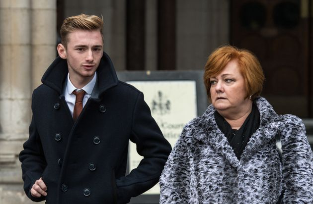 Owen's mother Suzanne said her family had been 'destroyed' by the terror