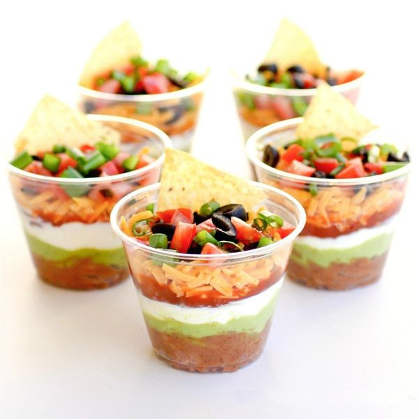 """<strong>Get the <a href=""""http://www.the-girl-who-ate-everything.com/2011/12/individual-seven-layer-dips.html"""" target=""""_blank"""""""
