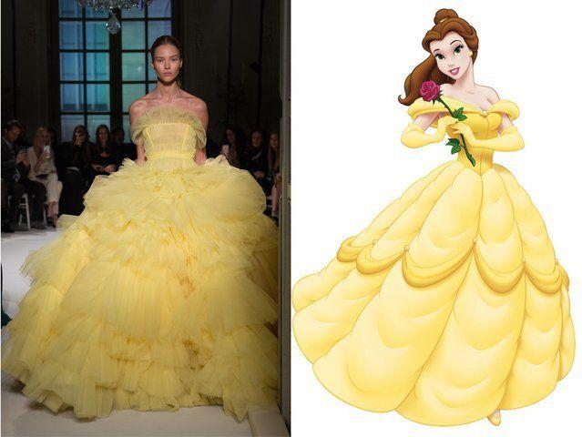 <p>Giambattista Valli; Belle from <em>Beauty and the Beast</em></p>