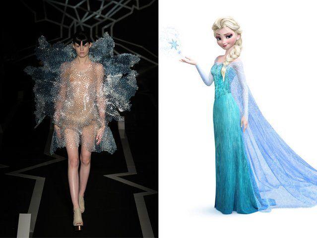 <p>Iris van Herpen; Elsa from <em>Frozen</em></p>