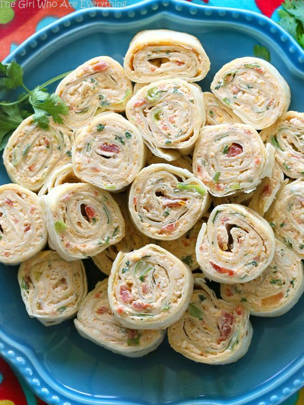 """<strong>Get the <a href=""""http://www.the-girl-who-ate-everything.com/2015/08/chicken-enchilada-roll-ups.html"""" target=""""_blank"""">"""