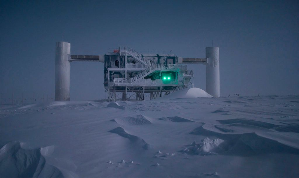 Scientists are using the world's biggest telescope, buried deep under the South Pole, to try to unravel...