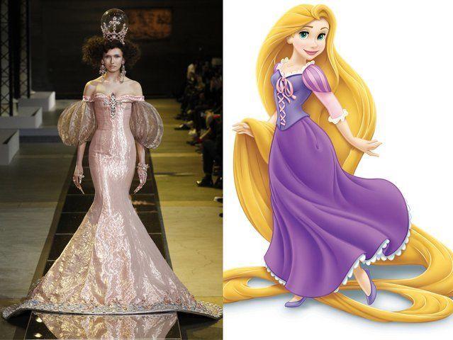 <p>Guo Pei; Rapunzel from <em>Tangled</em></p>