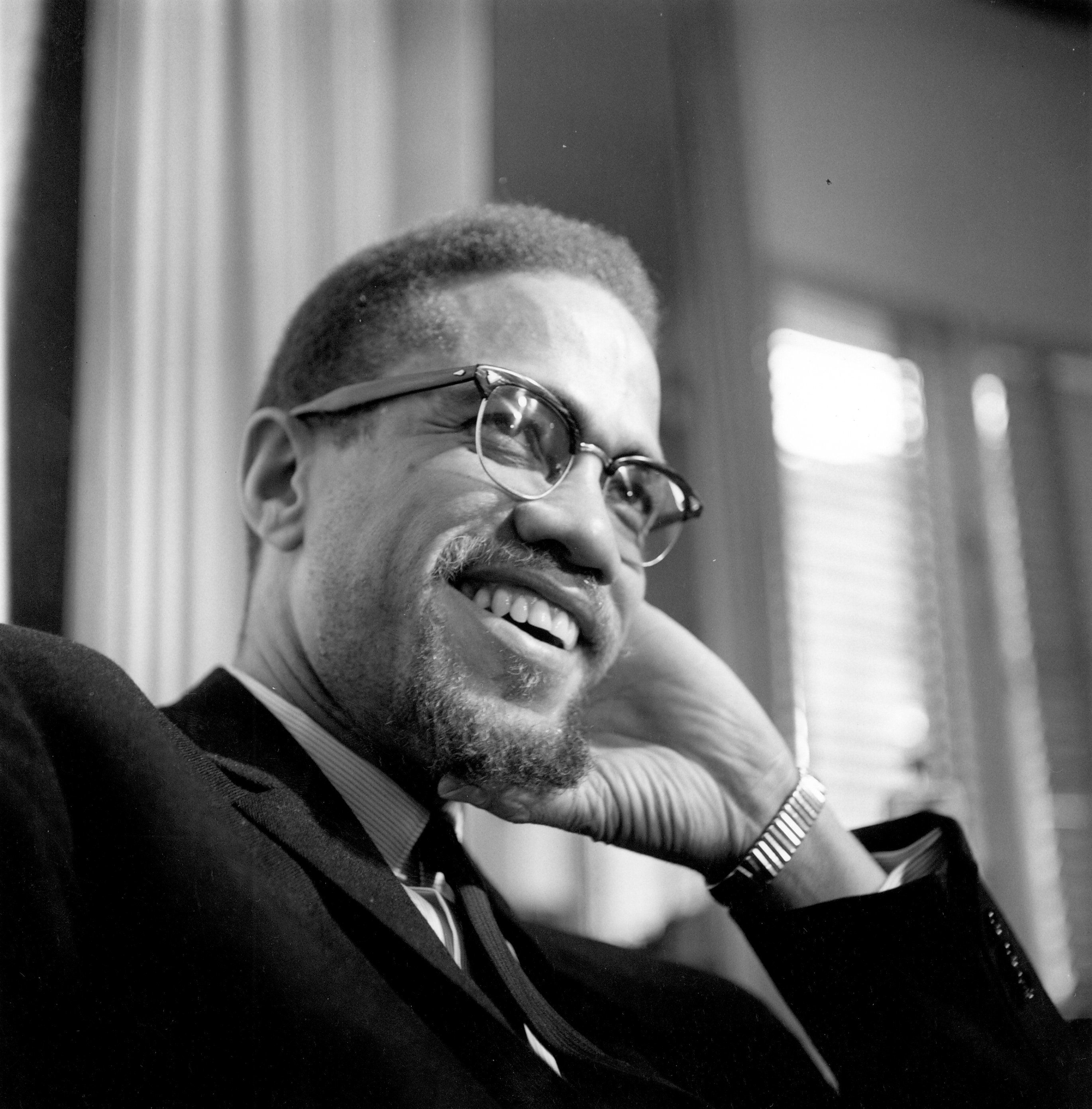 """Born Malcolm Little in 1925 in Omaha, Nebraska, Malcolm X was a fearless civil rights<a href=""""http://www.history.com/th"""