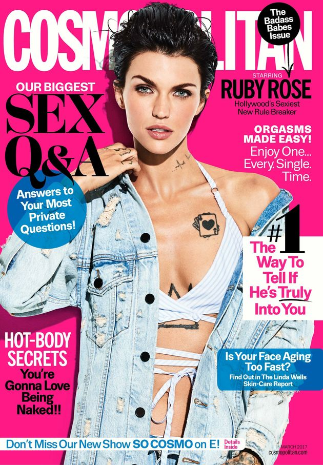 Ruby Rose Opens Up About Her Sexuality And Thoughts On