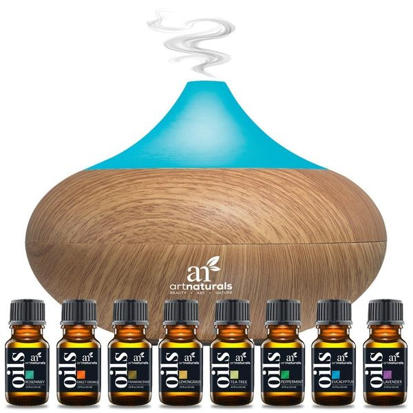 "$44.00, Art Naturals. Buy it <a href=""https://artnaturals.com/products/art-naturals-top-8-essential-oils-oil-diffuser-set?utm"