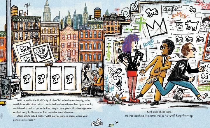 """Keith Haring s Sister Has Created An Amazing Picture Book About His Life. """" d39794710"""