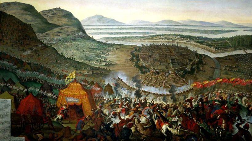 Vienna Battle 1683 by Frans Geffels (public domain)