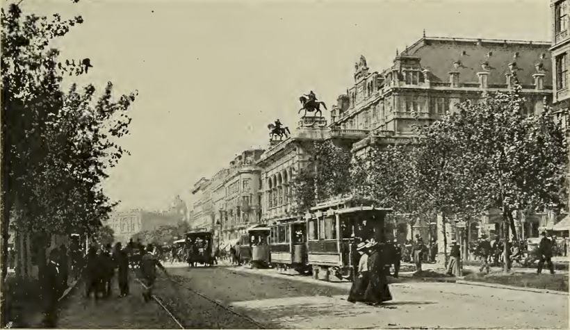 Opernring 1905 (photograph in the public domain)
