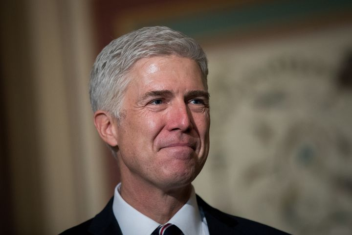 Neil Gorsuch, Donald Trump's pick to serve on the Supreme Court, was an outspoken conservative in college.