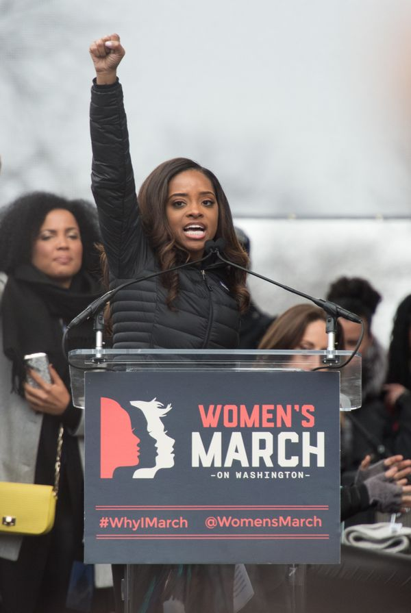 You may recognize Tamika Mallory's name from the diverse list of organizers for the Women's March on Washington, but Mallory