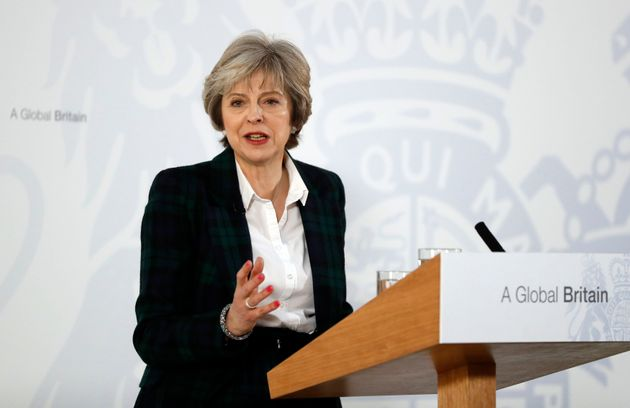 Theresa May makes her Lancaster House