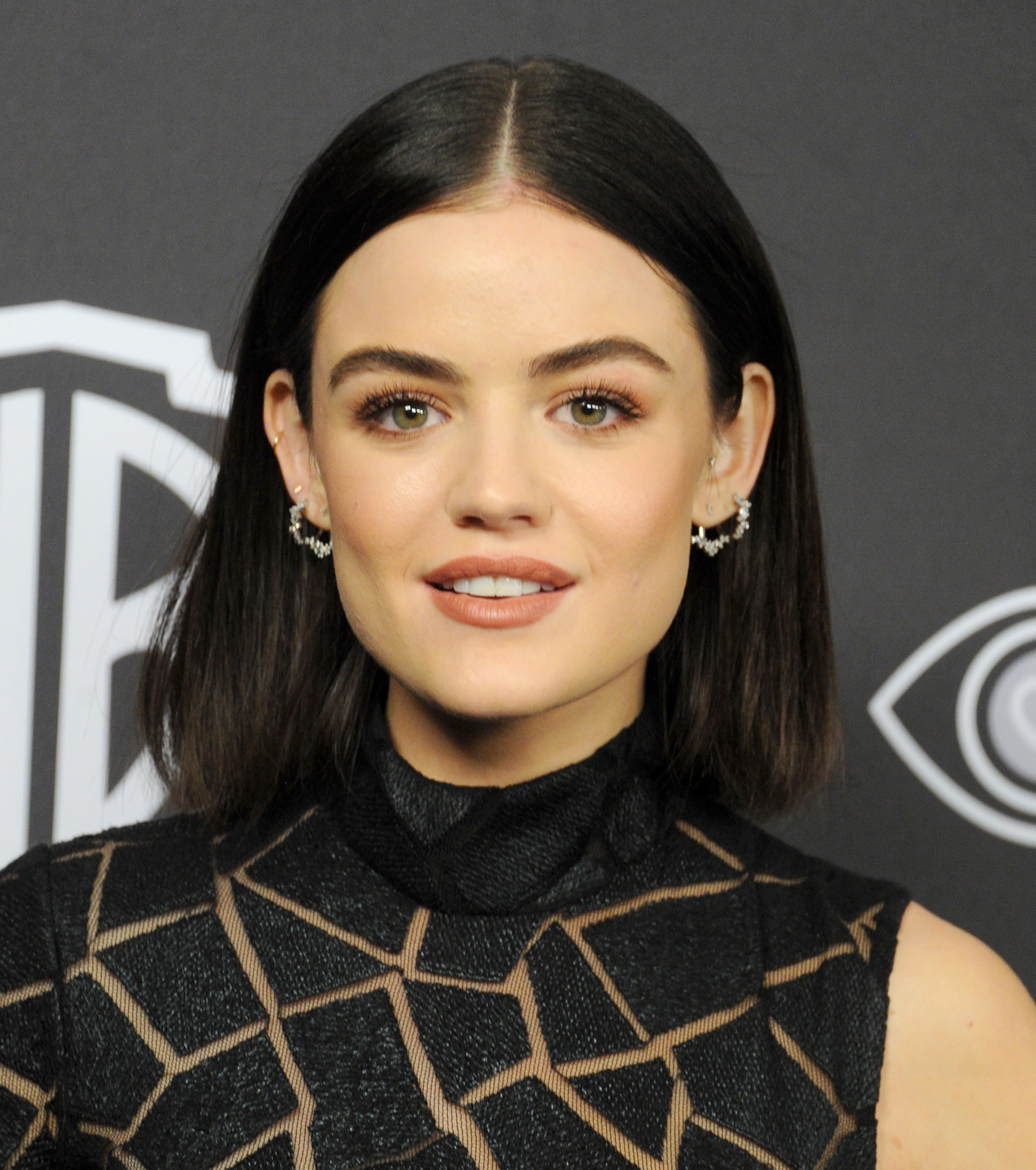 BEVERLY HILLS, CA - JANUARY 08:  Actress Lucy Hale arrives at the 18th Annual Post-Golden Globes Party hosted by Warner Bros. Pictures and InStyle at The Beverly Hilton Hotel on January 8, 2017 in Beverly Hills, California.  (Photo by Gregg DeGuire/FilmMagic)