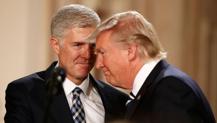 """I am a man of the West."" -- Supreme Court nominee Neil Gorsuch talking to himself in the mirror, maybe."