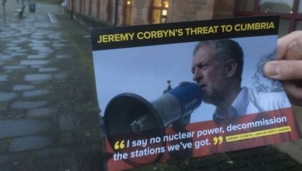 A Tory leaflet in the