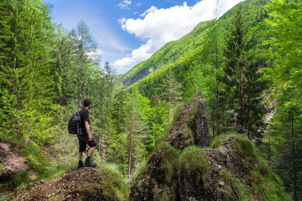 "The <a href=""https://www.rei.com/adventures/trips/europe/slovenia-hiking.html"" target=""_blank"">Julian Alps</a> provide a stun"