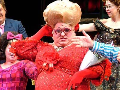 "In 2005, Bruce Vilanch starred as ""Edna Turnblad"" in the Broadway production of <em>Hairspray.</em>"