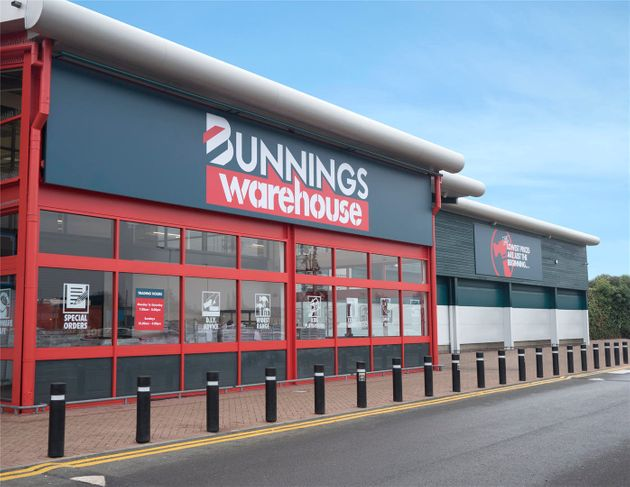 The first UK Bunnings store has opened in St