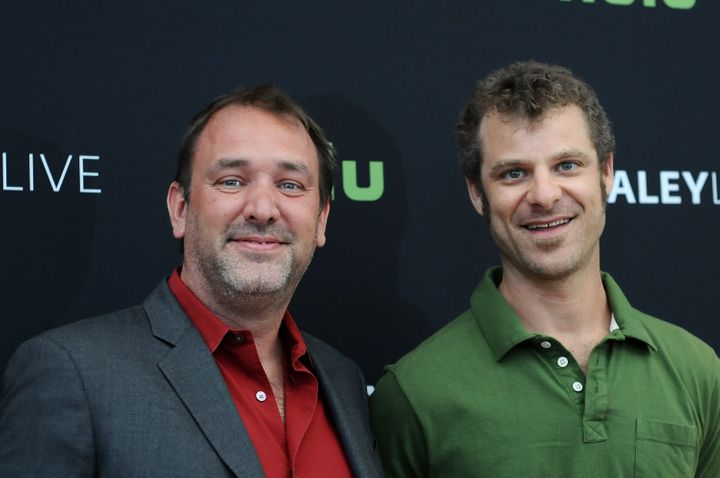 """South Park"" creators Trey Parker and Matt Stone."