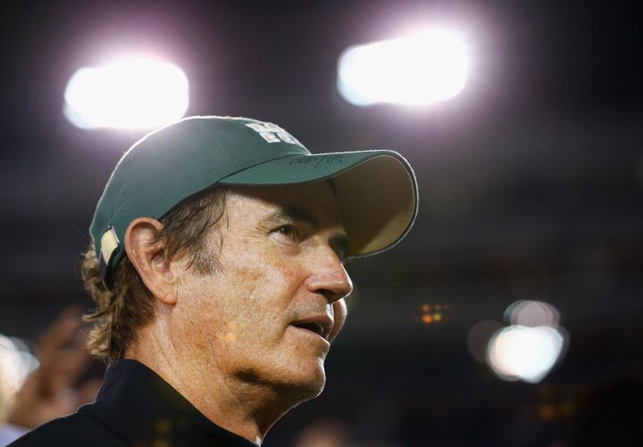 Former head coach Art Briles was fired from Baylor in May of 2016.