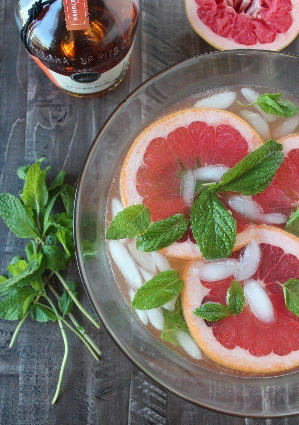 "<strong>Get the <a href=""http://whitneybond.com/2014/12/15/grapefruit-ginger-spiced-rum-punch/"" target=""_blank"">Grapefruit Gi"