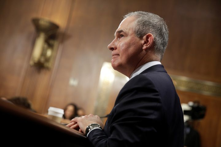 Senate Democrats are boycotting a vote on the nomination of Scott Pruitt to head the Environmental Protection Agency.