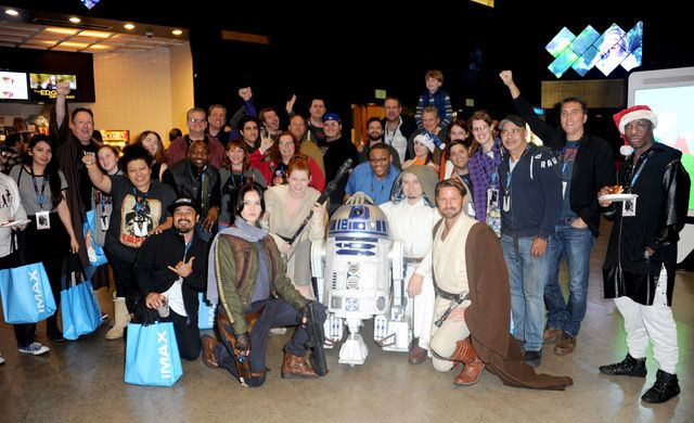 LEGION M FANS AT OPENING NIGHT OF ROGUE ONE: A STAR WARS STORY AT THE TCL CHINESE THEATRE