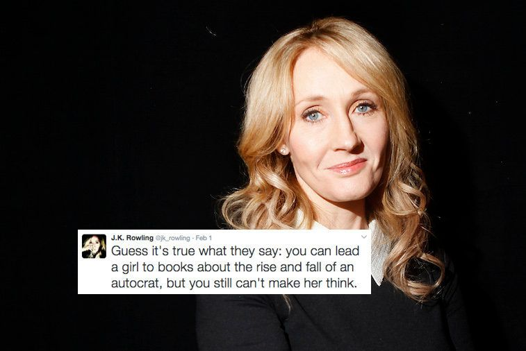 J.K. Rowling's Responses To Fans Burning Her Books Are Pure