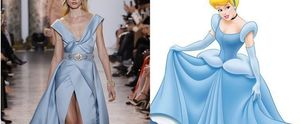 ELLE SAAB CINDERELLA DRESS