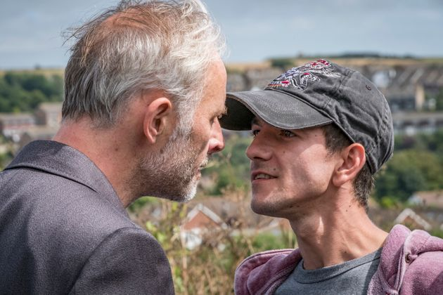 Gary (Mark Bonnar) showed his merciless side when confronted with his