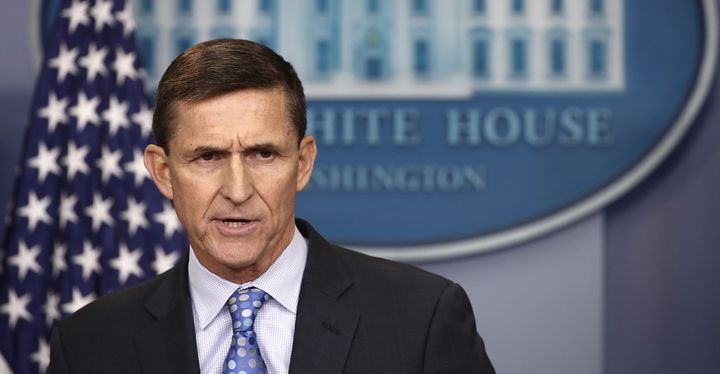 "National Security Adviser Michael Flynn said the White House is ""officially putting Iran on notice"" for a recent missile test"