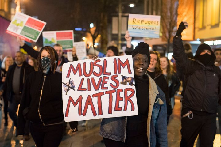 Why is President Trump silent on hate crimes against Muslims? Does he simply believe that Muslim lives don't matte
