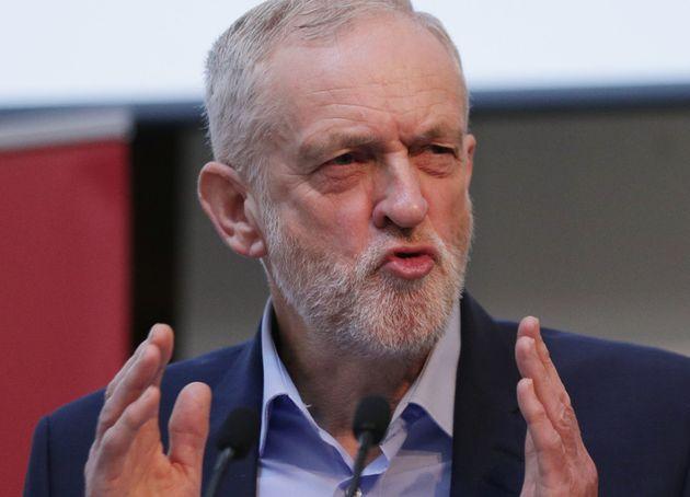 Jeremy Corbyn - no longer a