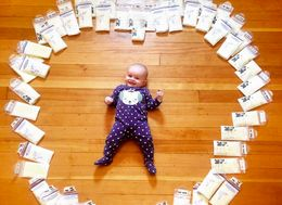 Why This Mom Posted A Photo Of 295 Ounces Of Breast Milk